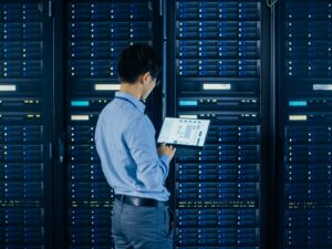 Difference between host and server